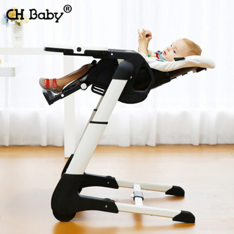 CH multi-function baby dining highchair children's foldle baby eating table portable booster seat with PP plastic tray chair eating disorders