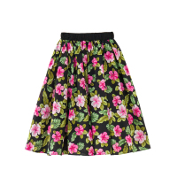 B S168 Super Sweet Sundress Girls Skirts Summer Girls Flower Printing Skirts Kids Pleated Skirts 8