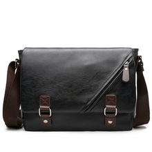 Luxury Brand Leather Men Bag Casual Business Messenger