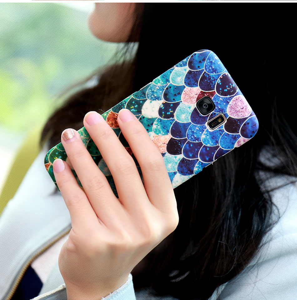 3D Scales Colorful Case For Phone 6 5 6S 7 Plus  (11)