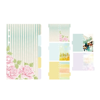 5 Pcs Flower Dividers Accessories for Dokibook Notebook Planner A5 Inner Page off xxl 12 page 5
