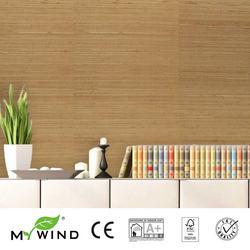 2019 MY WIND ABACA Grasscloth Wallpapers Luxury Natural Material Innocuity Paper Weave Design Wallpaper In Roll Decor