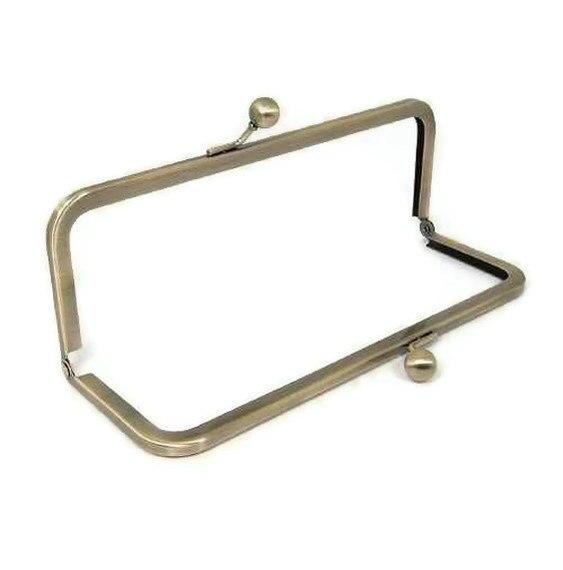 8 X 3 Inch Antique Brass Purse Frame