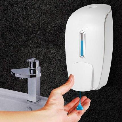 Soap Dispenser Wall-mounted, Hole-free Hand Soap Dispenser, Toilet Sanitizer Press Bottle, Hotel Bathroom Shower Gel Box