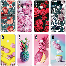 Para TPU Coque Huawei Honor 4C 4X 5C 5X 6A 6C 6X 7A Pro 7C 7X8 8C 9 funda de piña V9 Play View 10 Lite para Honor 8X(China)