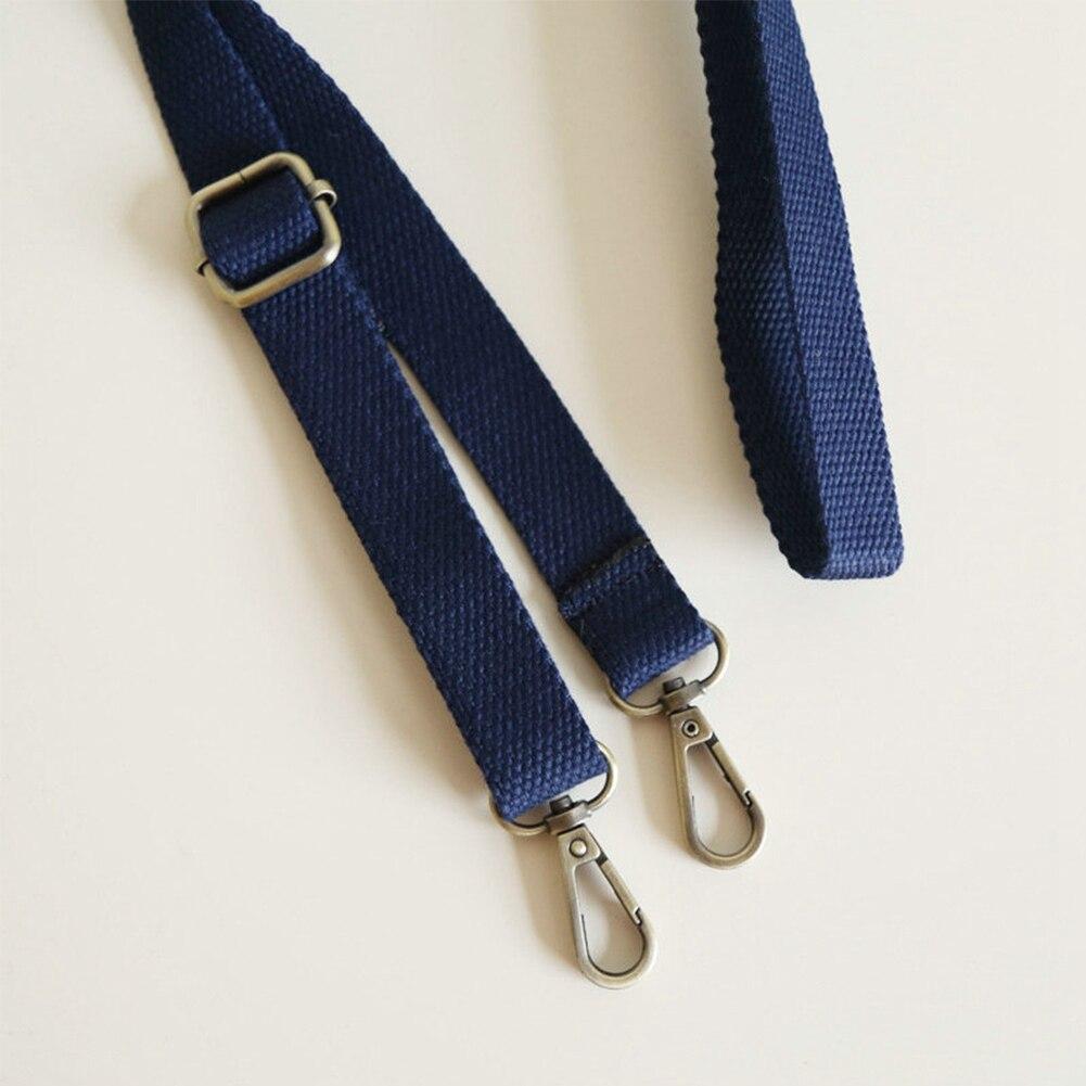 Adjustable Skinny 1cm Leather Handbag Shoulder Bag Strap Replacement Blue