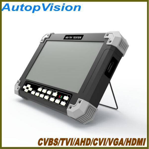 NEW 7Inch X42TAC-5M AHD camera tester CCTV tester monitor support CVBS/TVI/CVI/AHD/VGA/HDMI cctv tester 12V/0.8A ouput