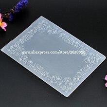 Рамка для листьев пластиковый с тиснением папка для самодельный альбом Скрапбукинг карта с набором инструментов Пластик шаблон 10,6x14,5 см 8070841