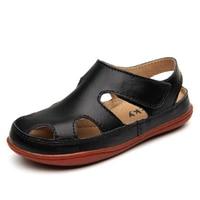 Mudibear Kids Shoes Children Beach Sandals Boys Genuine Leather Sandals Girls Soft Flat Casual Shoes 2018 New Summer Candy Shoe