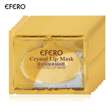 30 Pcs Pelembab Bibir Masker Emas Kolagen Esensi Bibir Spa Lip Patch Masker Pengisian Bayi Bibir Perawatan Masker