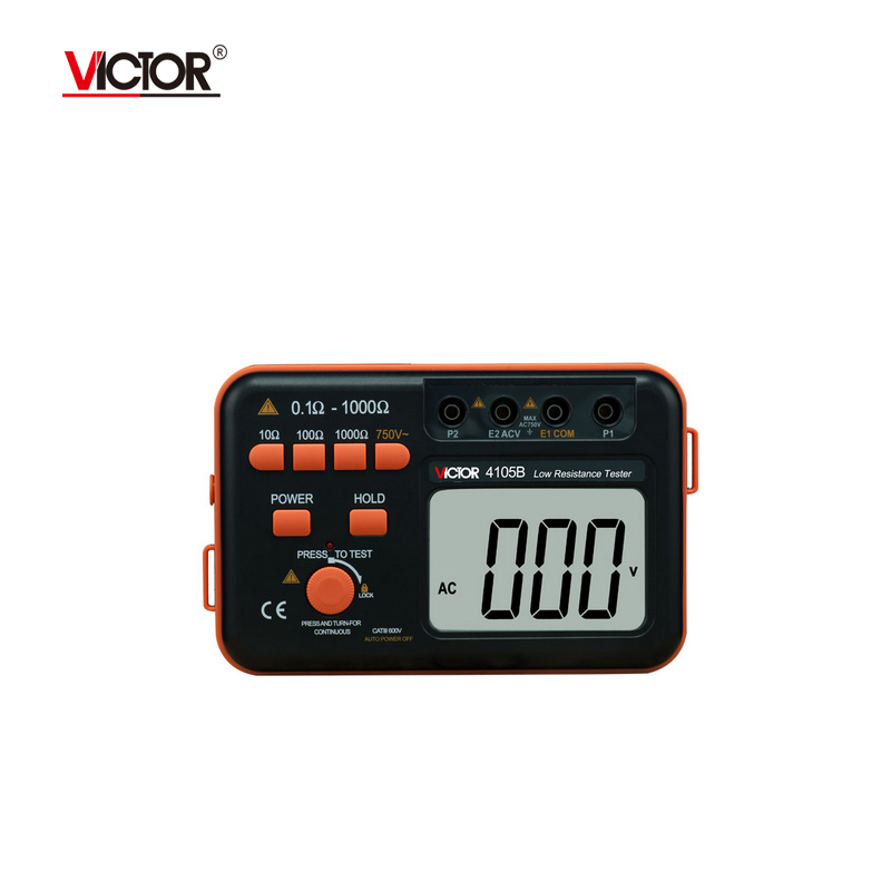Victor VC4105B Ground Resistance Tester 0.1~1000Ohm