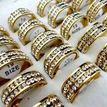 Женские кольца из нержавеющей стали 316l 10 шт обручальное кольцо
