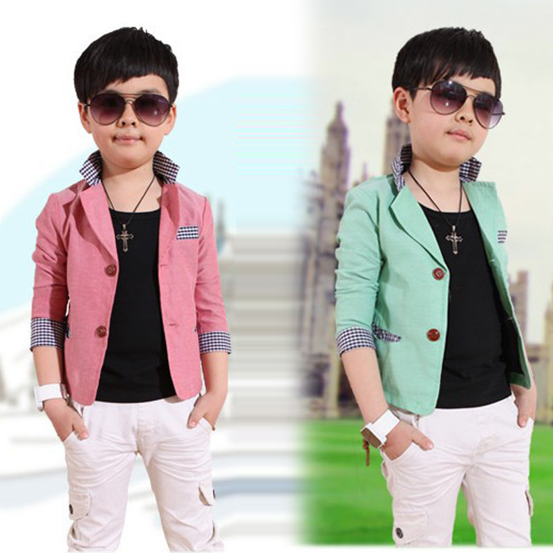 Aliexpress.com  Buy Children Outerwear Kids Blazers Suits Boys Jackets Spring/Autumn Children ...