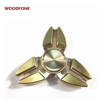 Clearance Hand Spinner Crab Gyro Stres Hand Spinner Metal Copper Tri Fidget Spinner Anti Stress Toys