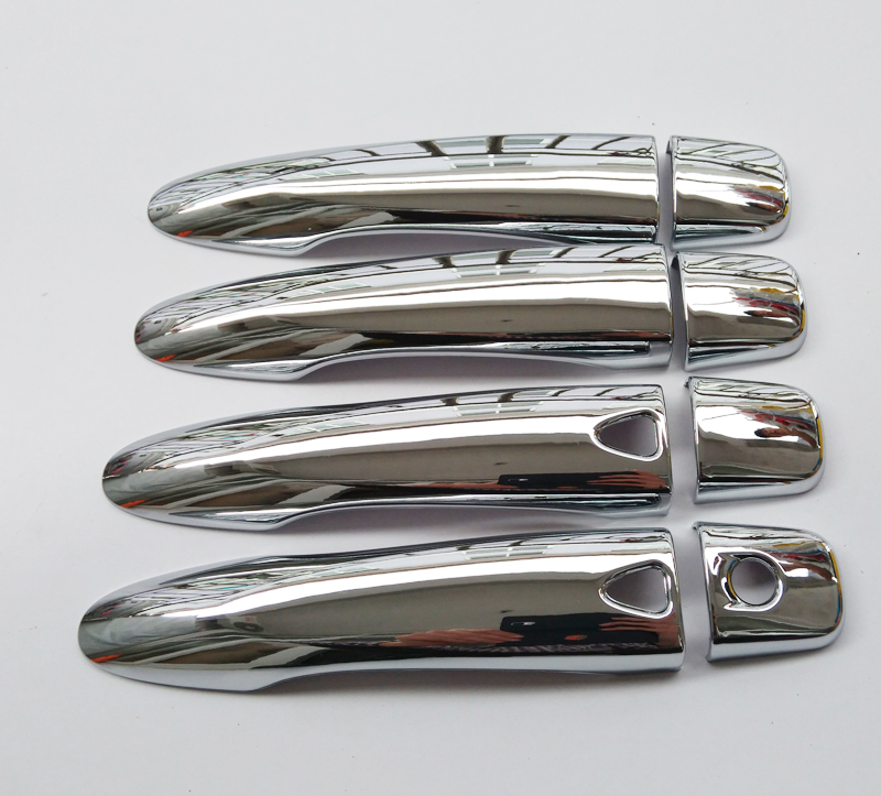 Free Shipping For Nissan QASHQAI 2015 ABS chrome Door Handle Cover Door Handle straps car accessories (12)