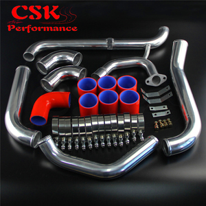 Kit de tubería Intercooler de actualización FMIC compatible con Toyota Starlet glaza EP91 EP82 4P-FETE 90-99