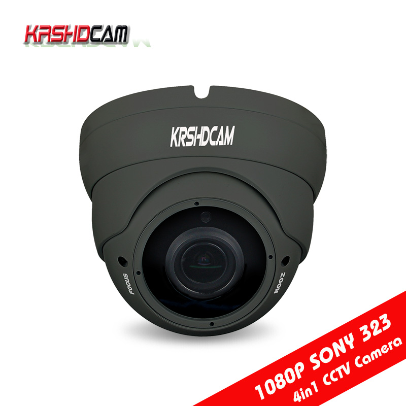 1080P AHD/TVI/CVI/CVBS CCTV camera 4 in 1 Cameras sony sensor varifocal waterproof/vandarproof room dome outdoor security