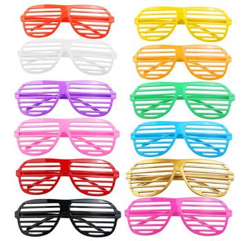 24 Pairs Funny Shutter Glasses Made Of Hard Plastic Material For Club Party And Concert