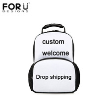 FORUDESIGNS Welcome Custom Unisex Backpack Men Women Travel Bagpack Cool 3D Print Children Boys Girly School