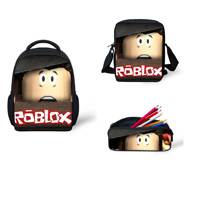 Backpacks Roblox games Printing School Bags Set 3pcs School supplies  Backpack for Boys Girls Schoolbag Teen Mochila Satchel 1dac9bf4b6981