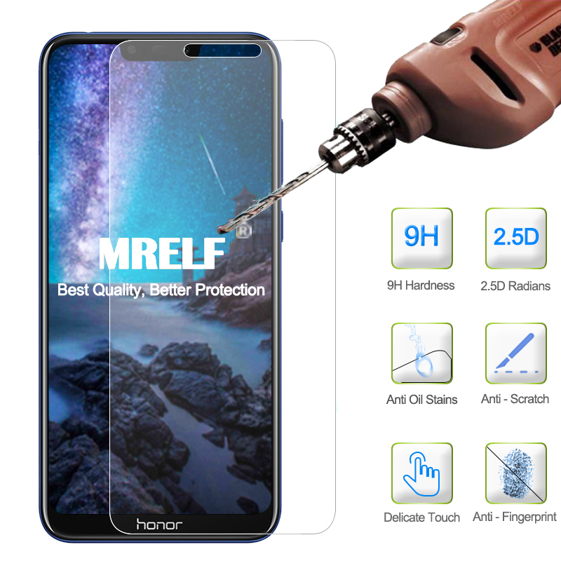Image 2 - Tempered Glass for Huawei Honor 8X 8A 9X Pro Screen Protector Honor 8A 8S 8C Safety Protective Glass for Huawei Honor 8X 9X Pro-in Phone Screen Protectors from Cellphones & Telecommunications