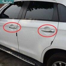 Tonliker 8 шт. DIY автомобиля Стиль Нержавеющая сталь ABS дверные ручки чехол наклейки для Mitsubishi Outlander 2013-16