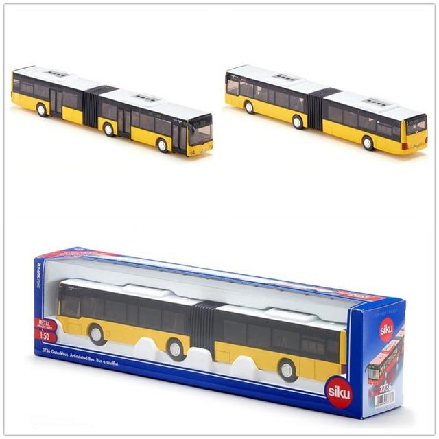 Siku/diecast metal modelo/de juguete de simulación: el hombre de juguete autobús de dos/para los niños del regalo del festival para la recogida/educativos