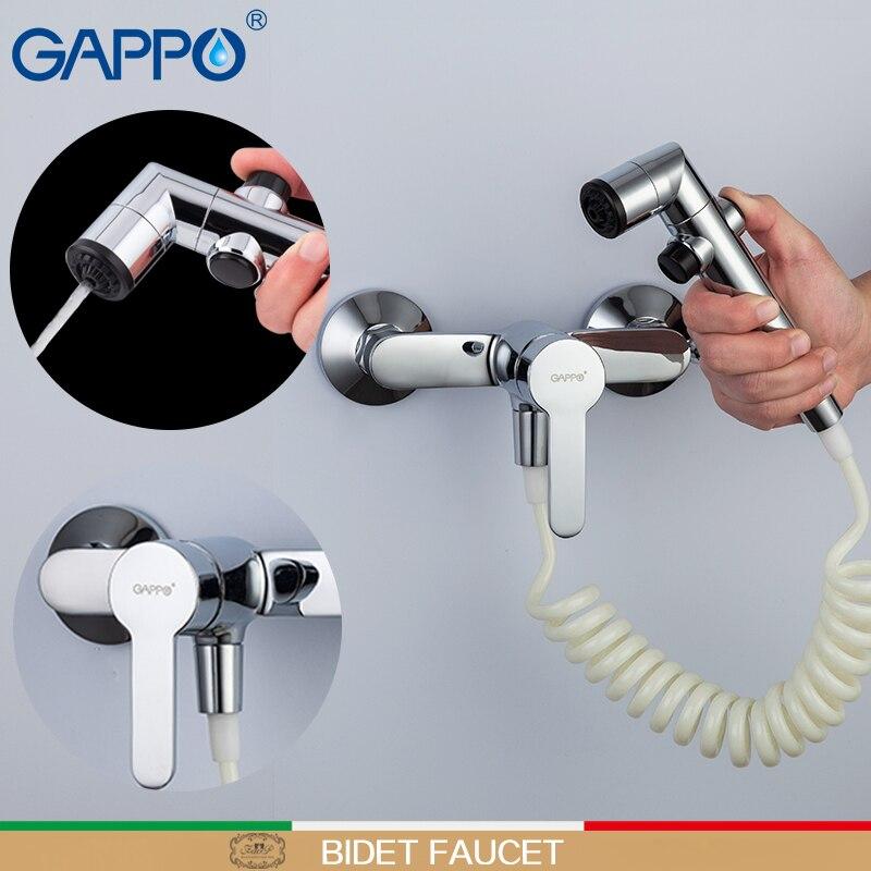 GAPPO Bidet musulmano doccia Bidet wc Rubinetto igienico doccia montaggio a parete wc wc spruzzatore bagno doccia palmare rubinetto