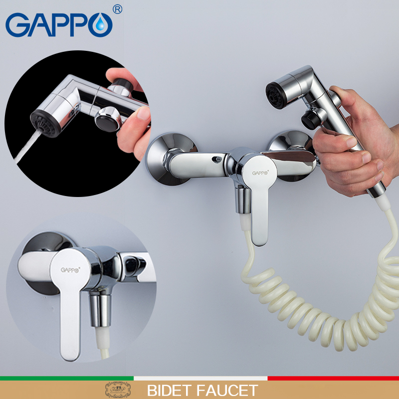 все цены на GAPPO Bidets muslim shower Bidet toilet Faucet hygienic shower toilet wall mount toilet sprayer bathroom handheld shower tap онлайн