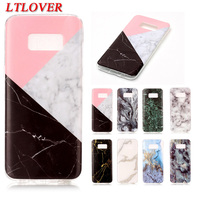 Hot Selling Marble Rock Stone Texture Pattern phone Case For Samsung Galaxy S8 5.8