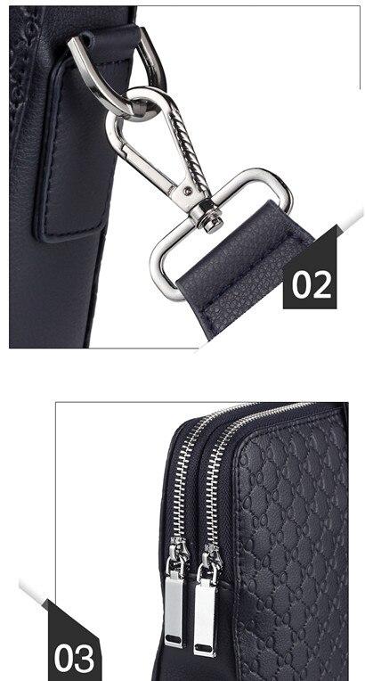 HTB191 gbwmH3KVjSZKzq6z2OXXa6 Double Layers Men's Microfiber Synthetic Leather Business Briefcase Casual Shoulder Bag Messenger Bag Laptop Handbag Travel Bag