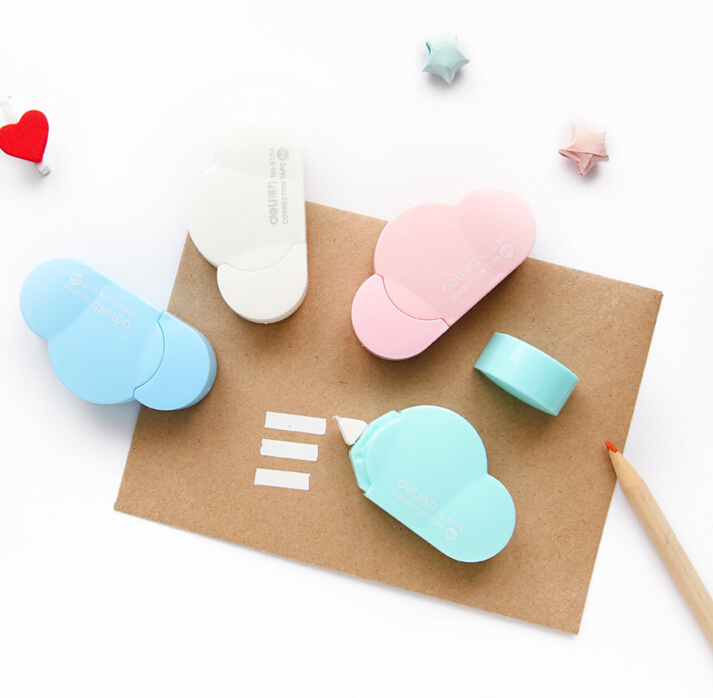 Novelty Cloud Shape Correction Tape Promotional Gift Stationery Student Prize School Office Supply