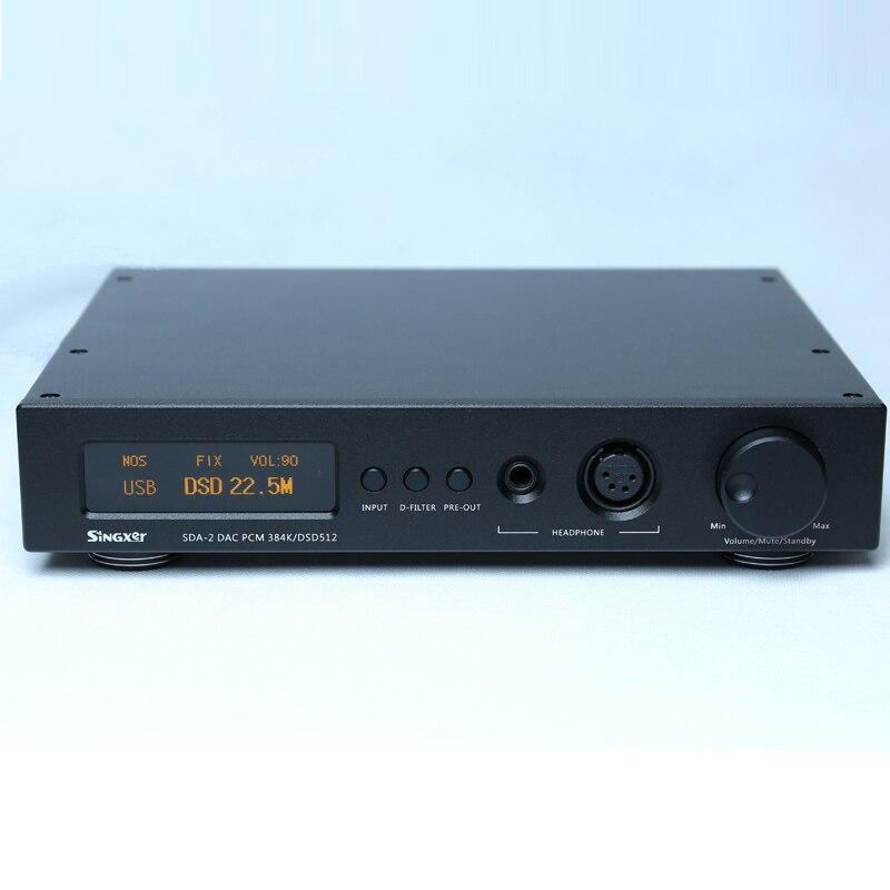 Unterhaltungselektronik Singxer Sda-2 Volle Ausgewogene Dac Kopfhörer Amp Vorverstärker Dsd512 Ak4497 Dac Chip Ausgezeichnet Im Kisseneffekt Tragbares Audio & Video