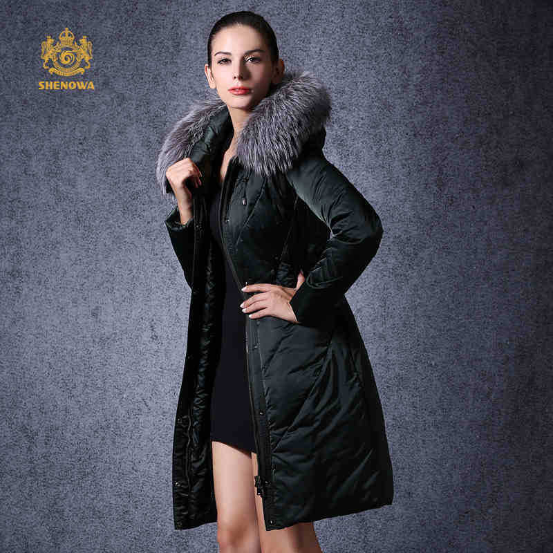 2015 New Hot Thicken Warm Cold Woman Down jacket Coat Parkas Outerwear Hooded Fox Fur collar Long Plus Size 3XXXL Luxury Brand