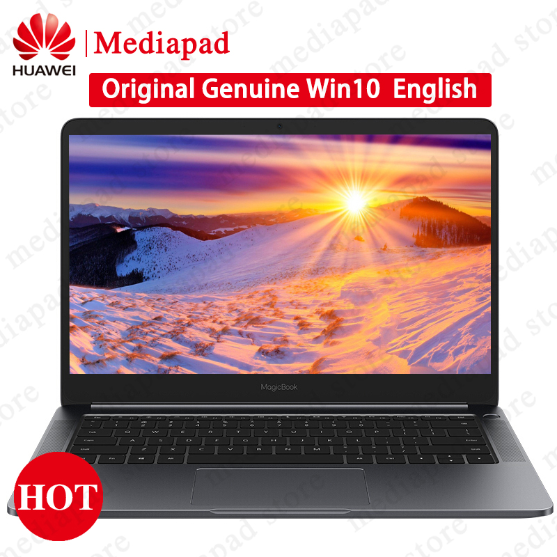 14 inch HUAWEI honor MagicBook Windows 10 Notebook 8th-Gen i5/i7 CPU GeForce MX150 2GB GDDR5 8GB 256GB Ultraslim Laptop PC asus chromebook c423