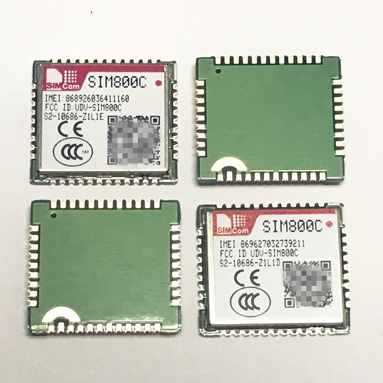 SIMCOM SIM800C 24M with BT Bluetooth 2G 100% New&Original Genuine Distributor In the stock GSM/GPRS  Embedded quad-band module