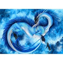 SHAYI 5D DIY Diamond Painting Diy Dragon 2.7 Round Embroidery Living Room Decoration New Picture