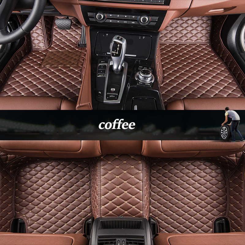 Kalaisike Custom רכב רצפת מחצלות לסובארו כל מודלים היערן XV BRZ Outback Legacy טרייבקה אימפרזה רכב סטיילינג אבזרים