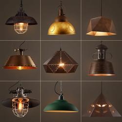 Lampy wiszące w stylu vintage Loft lampa Avize Nordic Hanglamp restauracja oświetlenie kuchni oprawa wisząca oświetlenie przemysłowe domu w Wiszące lampki od Lampy i oświetlenie na