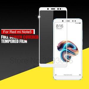 Image 2 - 3D полноэкранное закаленное стекло для Xiaomi Redmi Note 5 Pro, Защита экрана для Redmi Note 5, глобальная версия, защитная пленка