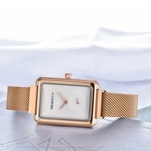 Rosefiled Women watches Square Japanese Movement Quartz Watch Women Girl Decorative Wrist Watch montre femme reloj mujer бра lumion 3687 1w