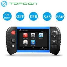 TOPDON ArtiDiag 100 Auto Diagnostic Tool Automotive EPB RESET BMS SAS OIL DPF OBDII OBD 2 Scanner All system Engine Analyzer цена