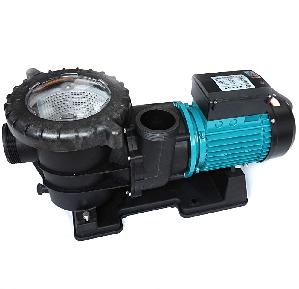 Swimming pool pump stp150 1100w 1 5hp plastic water pumps for Fish pond pumps and filters