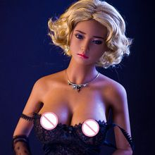 Pinklover 165 cm real silicone sex doll style lifelike big breast /small waist