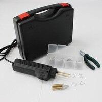 Hand held hot staple gun auto plastic bumper fairing damage repair thermo heating repair tools garage workshop body shops tool