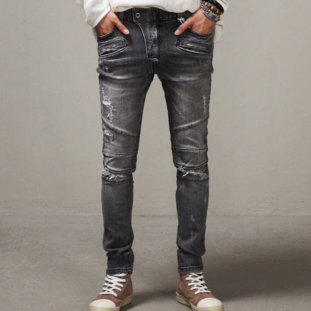 Popular Grey Wash Jeans-Buy Cheap Grey Wash Jeans lots from China ...