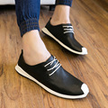 Zapatos Hombre Real Pu Black 2016 Newest British Men Fashion Cool Pu Shoes Autumn Spring Youth Korea Favorite Freeshipping
