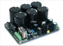 Douk Audio 6*10000UF/50V Hi-Fi Amplifier Power Supply Board with Speaker Protect Free Shipping