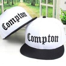 2018 nueva tendencia moda Casual tapa Compton Snapback cartas bordado  sombreros camuflaje gorras de béisbol huesos Hip Hop Cap h. 4e8eb64720c