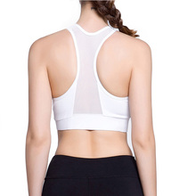 Sport Bras Top Women with Push Up Quick Dry Padded Bras Sexy Jogging Yoga Workout Gym Running Fitness Clothing Vest Sports Suit